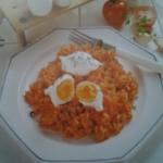 Ryz w sosie pomidorowym z...