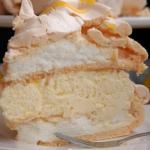 Cytrynowy tort bezowy z l...