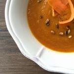 Zupa krem marchewkowy z...
