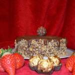 Bezowy Rocher - tort...