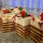 Śmietankowe ciasto na...