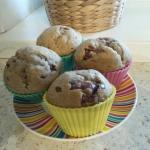 Muffinki bananowo-czekola...