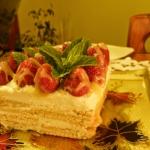 Ciasto na herbatnikach...