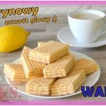 Domowe wafle cytrynowe(z...
