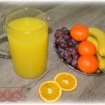 Domowy napoj pomaranczowy...