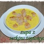 Zupa serowo-cebulowa