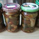 Ogorki z chilli