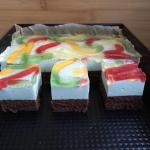 Ciasto kolorowa...