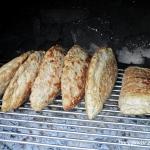 Pierogi mięsne na grilla