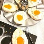 Bezowe jajka sadzone