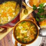 Zupa z  warzyw i mięsa...