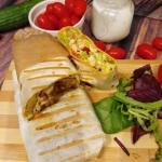 Domowy kebab w tortilli