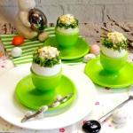 Jajka z rzeżuchą
