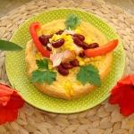 633. Omlet z łososiem i...