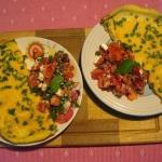 336. Omlet i sałatka z...