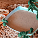 Zupa krem serowo-cebulowa