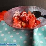 Surowka z pomidorow i ceb...