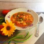 Zupa fasolowa z ryzem