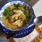 Zupa z maslakow  Leon