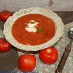 Zupa pomidorowa z ryzem i...