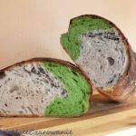 Chleb z mielona mloda tra...