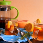 Herbata z rozmarynem i gr...