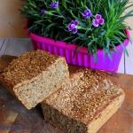 Żytni chleb na drozdzach...