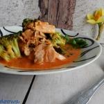 Azjatycka zupa z lososiem...