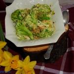 Brokuły w sosie...