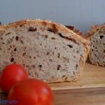 Chleb mieszany z kasza gr...