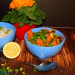 Kolorowe curry z dynią