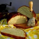 Chleb z serem plesniowym