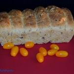 Chleb z czerwonym ryżem