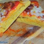 Pizza dyniowa z chorizo...