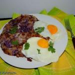 Brytyjski omlet sniadanio...