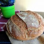 Chleb pszenny na dzikich ...