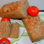 Chleb pszenny graham na z...