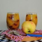 Deser jablkowy z zurawina...
