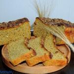 Chleb zytni z dynia na za...