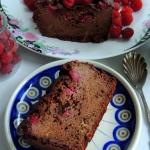 Ciasto czekoladowo - orze...