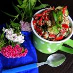 Salatka z kaszy jaglanej,...