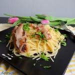 Spaghetti z owocami morza...