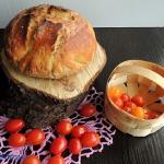 Chleb pszenny z garnka be...