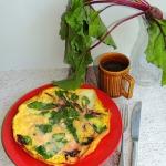 Omlet z botwinka