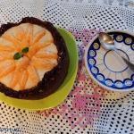 Tarta z kremem imbirowo -...