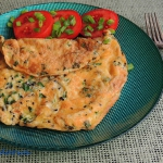 Omlet z kielkami