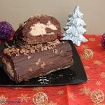 Rolada czekoladowa z krem...