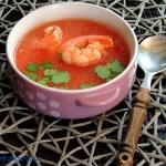 Zupa kokosowo - pomidorow...