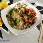 Azjatycki ryz z tofu i se...