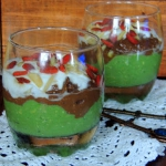 Trifle z awokado